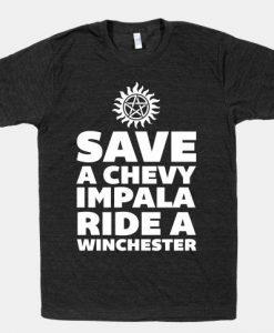 Save a Chevy Impala T-Shirt AL12A1